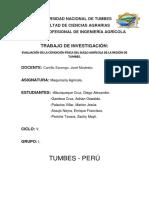 Evaluación de La Condición Física Del Suelo Agrícola