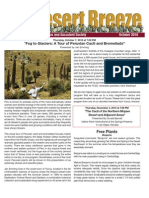 October 2010 Desert Breeze Newsletter, Tucson Cactus & Succulent Society