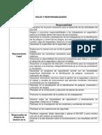 3. Roles y Responsabilidades SG-SST