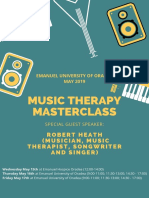 Muisc Therapy Masterclass