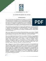 Acuerdo052 CG 2014Reformanormasdecontrolinterno