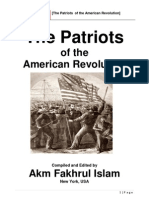 002. the Patriots of the American Revolution-Revised
