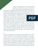 """A """"autobiografia"""" de Thomas Bernhard"""