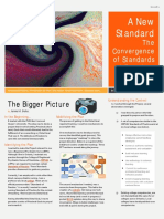 a new standard-the convergence of standards or practices