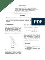 Informe (Lab 1) Péndulo Físico.pdf