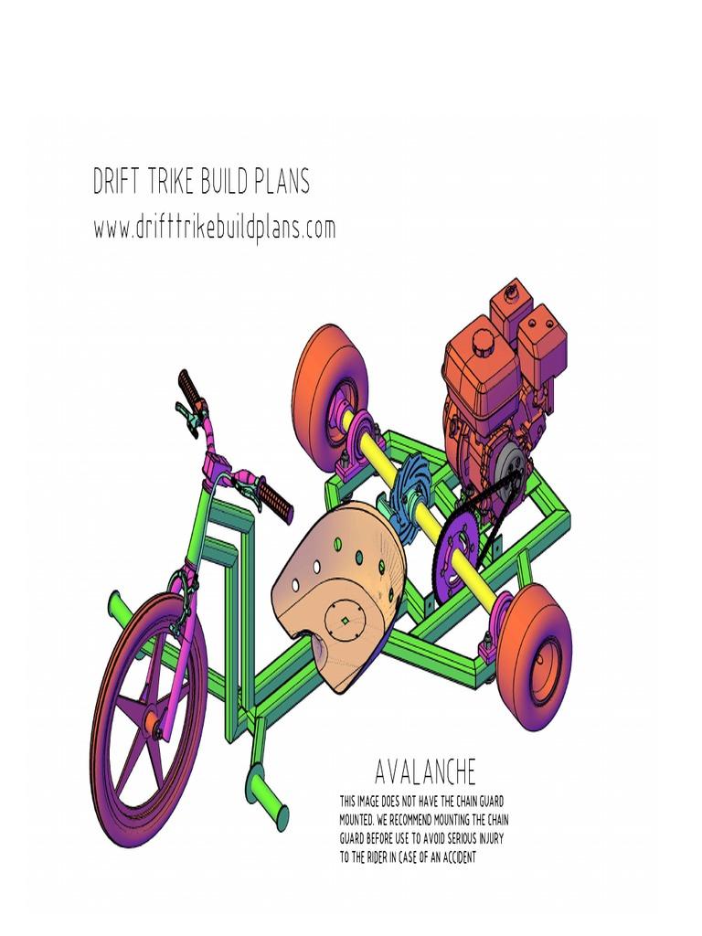 Drift Trike Frame Plans Cheap Online