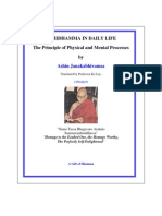 Abhidhamma in Daily Life