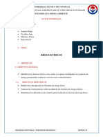 Informe Factor de Riesgo Físico