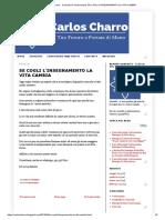 Carlos Charro - Consulto Di Cartomanzia_ Se Cogli l'Insegnamento La Vita Cambia