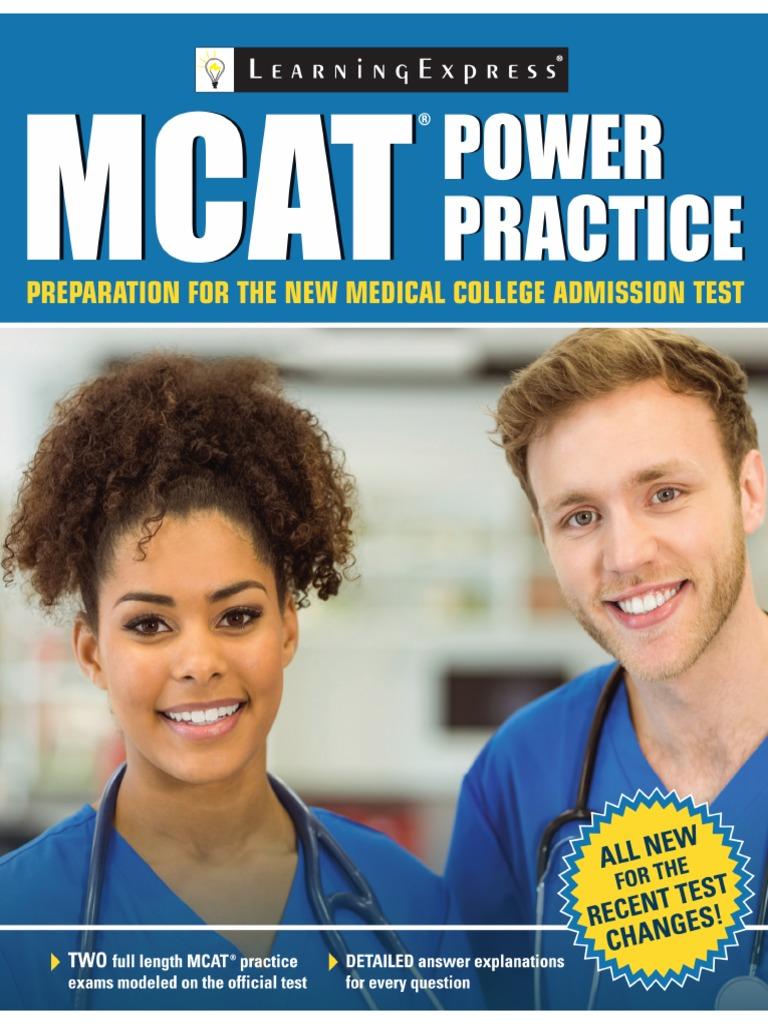 Mcat Power Practice Pdf Medical College Admission Test Test