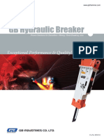 GB Hydraulic Breakers