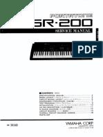 Piano Yamaha Psr-200