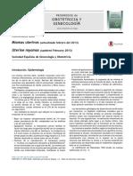 Miomas Uterinos Actualizado Febrero Del 2013 2014