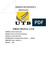 Monografia Firma Digital