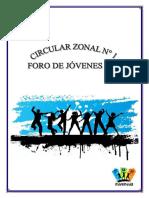 Zona 39. Circular 1 PDF
