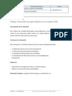 Desarrollar Una Guía Didáctica Con El Modelo CAIT