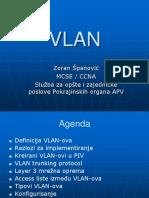 VLAN - Zoran Spanovic