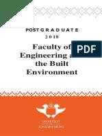 UJ Postgraduate Yearbook 2018