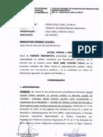 Caso Abel Concha Calla - prisión preventiva tráfico de influencias