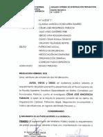 Prisión preventiva - Caso César Hinostroza Pariachi