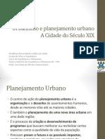 Urbanismo e Planejamento Urbano