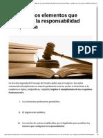 Elementos de La Responsabilidad Disciplinaria