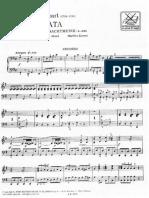 Mozart piccola serenata secondo pianoforte