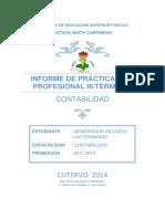Informe de Practica III (Terminal)