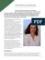 Philosophia-perennis.com-Erfahrungsbericht Einer Fachärztin Ali Und Das Alter