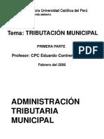 Diapositivasdetributacinmunicipal - Tema 1