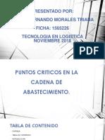 """Video """"Puntos Críticos en Actores de La Cadena de Abastecimiento"""""""