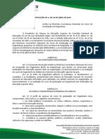 Resolução n° 2, de 24 de abril de 2019
