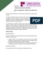 Instrumentación y Medición en Control Industrial