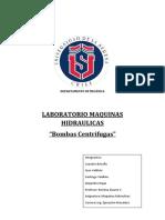 Informe 1 Maquina Hidraulica
