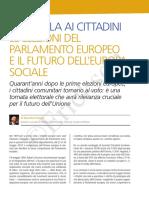 La parola ai cittadini europei.DAmico Lavoro Sociale 2-19 Watermark