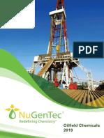 NuGenTec Oilfield Chemicals Brochure 2019