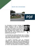 Fundación de la Universidad