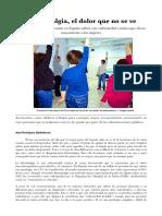Reportaje fibromialgia - Auxi Rodríguez - Per.Social