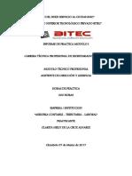 Informe I- Heily de La Cruz Alvares- Secretariado
