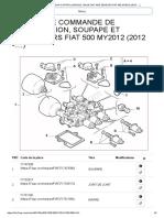 Transmission Control Module, Valve Unit and Sensors Fiat 500 My2012 (2012-....)