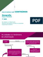 Urbanização Cidades Dinâmica Demográfica População Brasileira