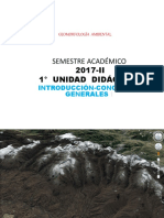 1. geomorfologia introduccion