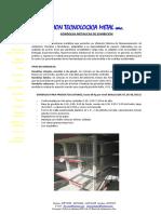 Especificaciones Tecnicas de Gondolas Metalicas