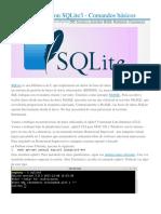 Primeros pasos con SQLite3 - Comandos básicos