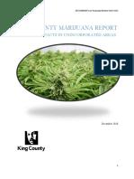 King County marijuana report