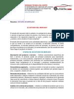 Resumen Presentaciones DelEstudio de Mercado _Lenin Torres_Proyectos Industriales