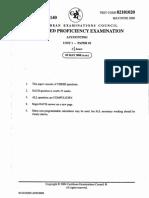 CAPE Accounting Unit 1 2008 P2