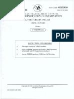 CAPE Unit 1 Literatures in English June 2008 P2