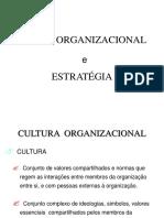 Cultura Organ e Ética