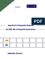 CLUSIT - Aspetti Di Crittografia Moderna